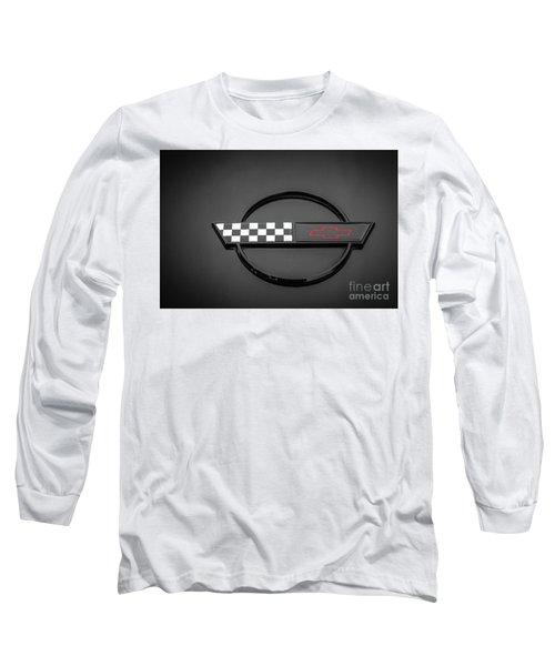 Corvette C4 Hood Ornament Long Sleeve T-Shirt