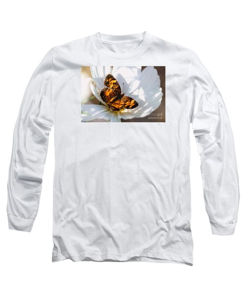 Cosmo Visitor 4 Long Sleeve T-Shirt by Angela Rath