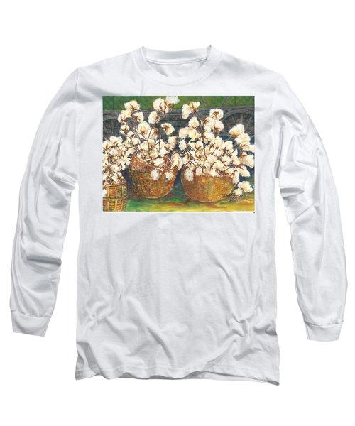 Cotton Basket Long Sleeve T-Shirt