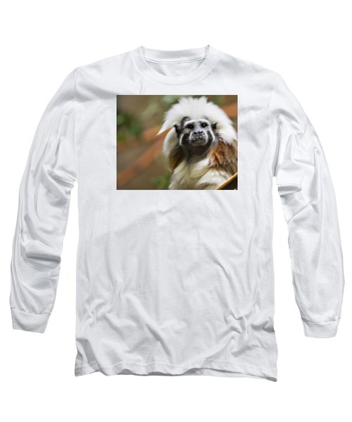 Cotton-top Tamarin _ 1a Long Sleeve T-Shirt