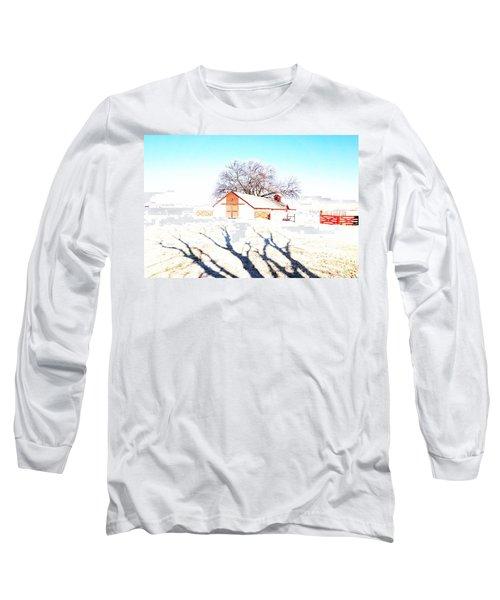 Cottonwood Ranch, Kansas Long Sleeve T-Shirt