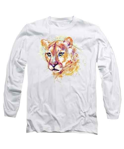 Cougar Head Long Sleeve T-Shirt