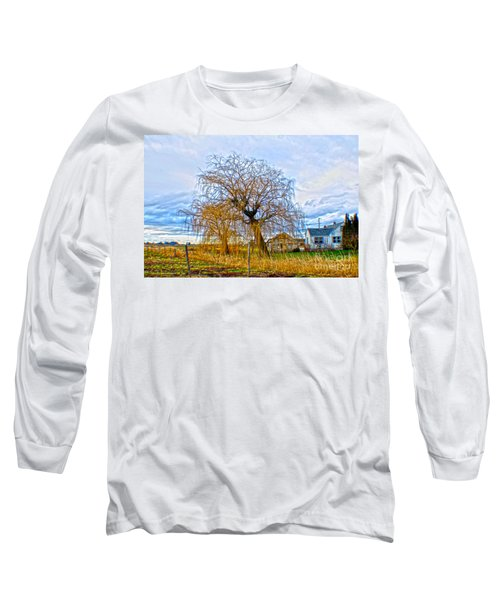 Country Life Artististic Rendering Long Sleeve T-Shirt