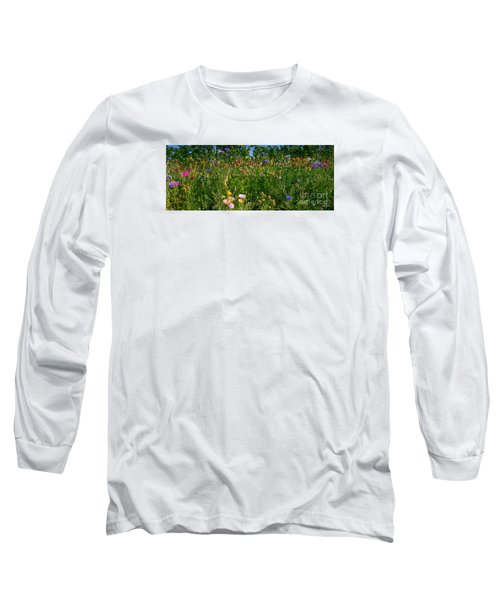 Country Wildflowers IIi Long Sleeve T-Shirt