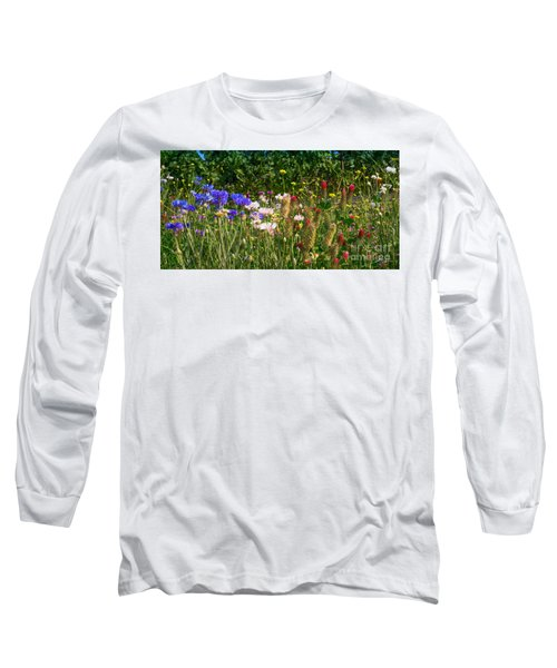Country Wildflowers Iv Long Sleeve T-Shirt
