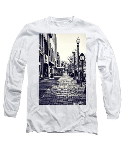Court Street Clock Florence Alabama Long Sleeve T-Shirt