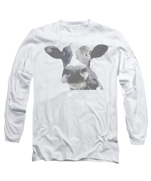 Cow - Cross Hatching Long Sleeve T-Shirt