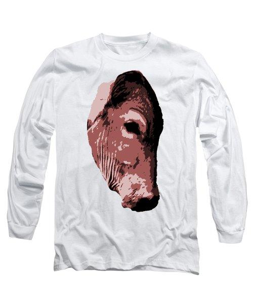 Cow Head Long Sleeve T-Shirt