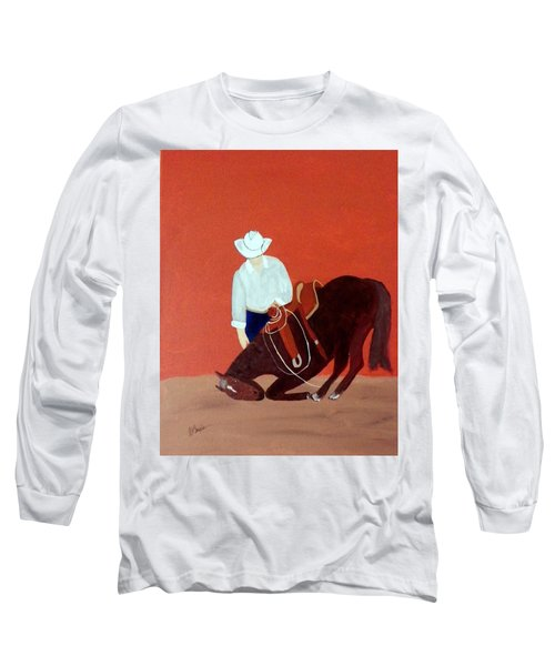 Cowboy And His Horse Long Sleeve T-Shirt
