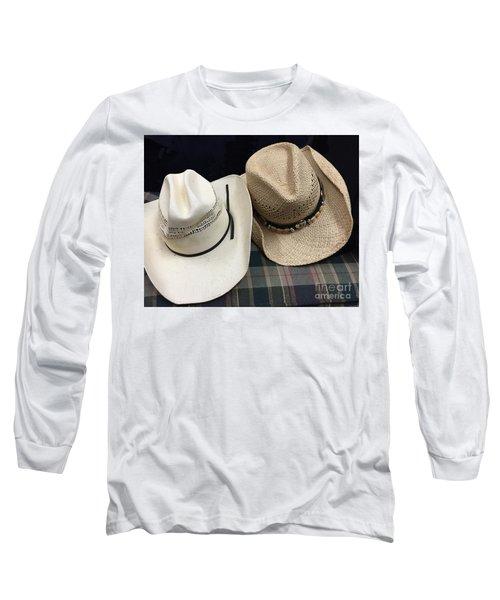 Cowboy Hats Long Sleeve T-Shirt