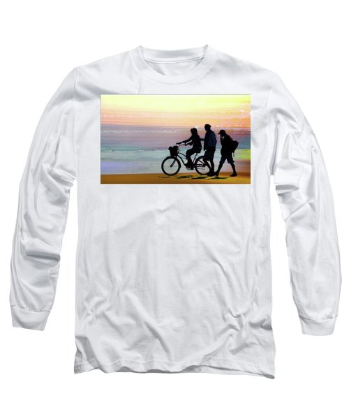 Cox Bay Bike Long Sleeve T-Shirt