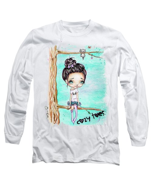 Cozy Toes Long Sleeve T-Shirt by Lizzy Love