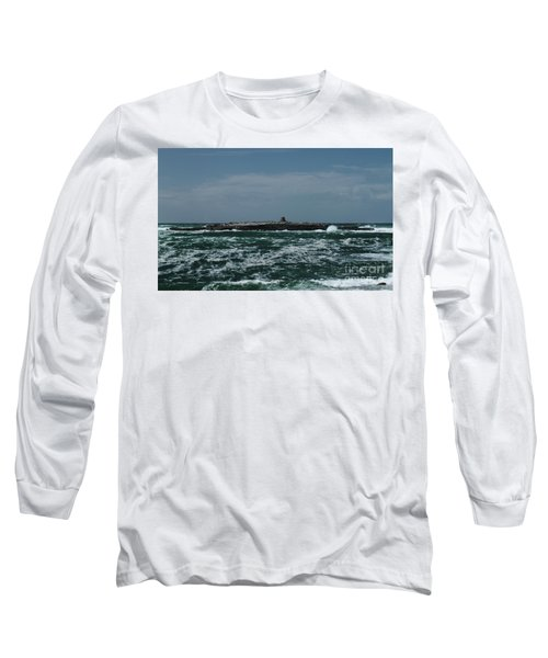 Crab Island Long Sleeve T-Shirt