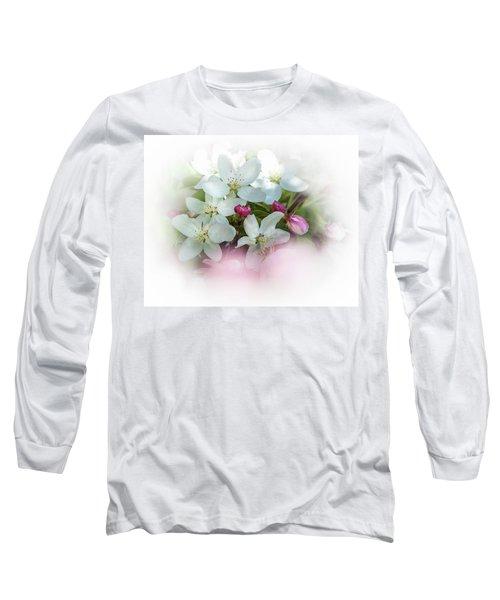 Crabapple Blossoms 3 - Long Sleeve T-Shirt