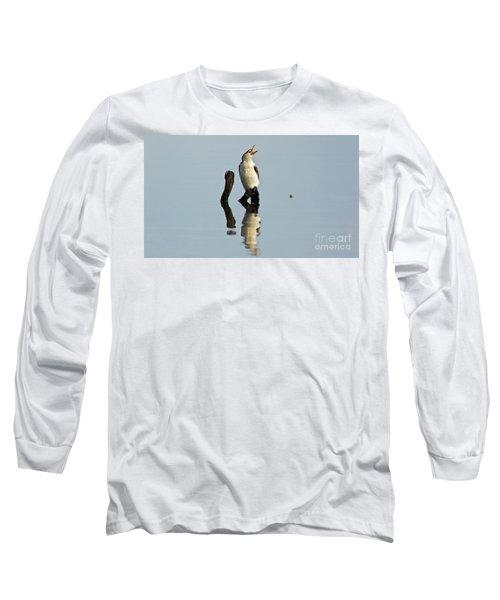 Cranky Cormorant Long Sleeve T-Shirt