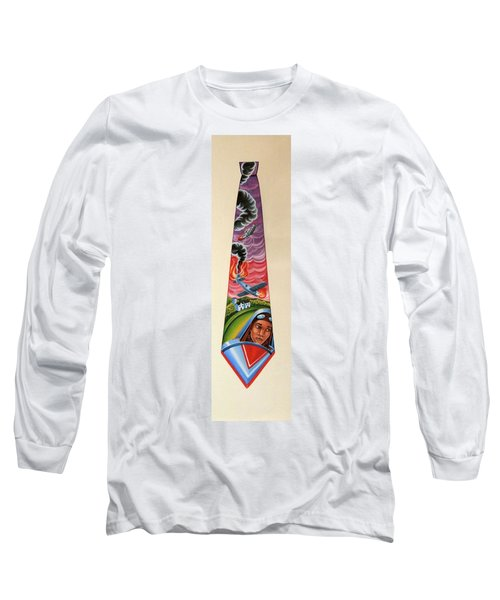 Crash Landing Long Sleeve T-Shirt by Tracy Dennison
