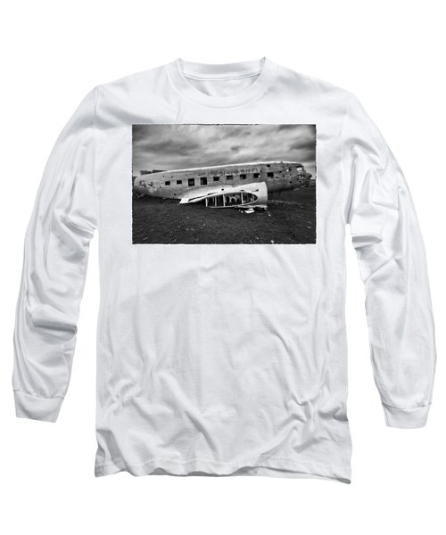 Crash Long Sleeve T-Shirt by Wade Courtney