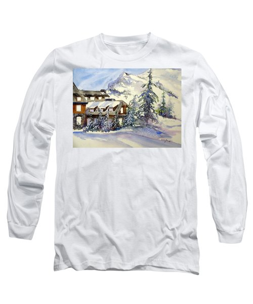 Crater Lake Lodge - Closed For Winter    Long Sleeve T-Shirt