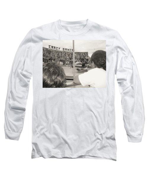 Long Sleeve T-Shirt featuring the photograph Crazy Dance by Beto Machado