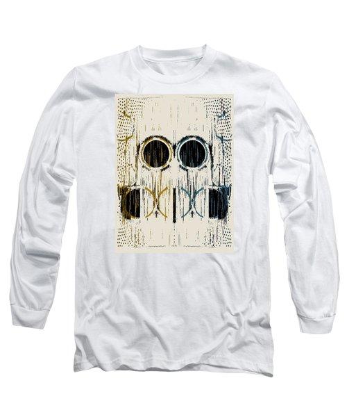Cream Rings Long Sleeve T-Shirt