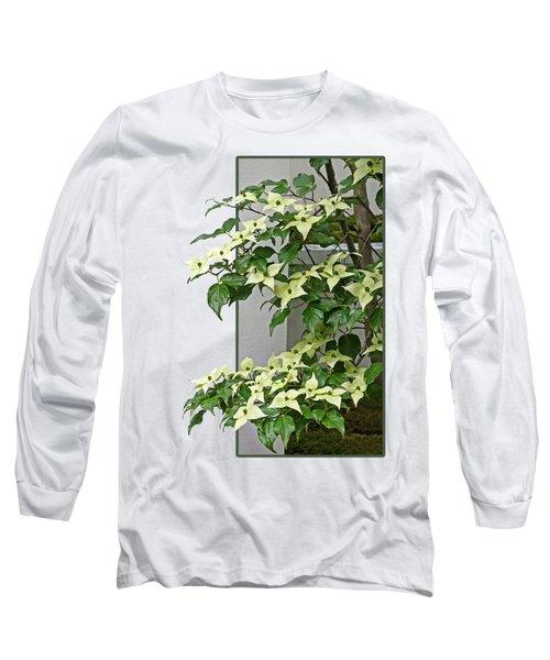 Creamy Delicious - Chinese Dogwood - Cornus Kousa Long Sleeve T-Shirt