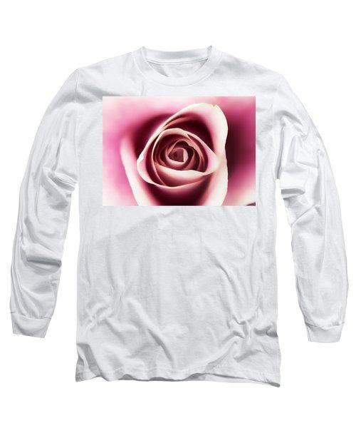 Creamy Pink Long Sleeve T-Shirt