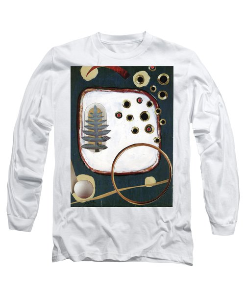 Long Sleeve T-Shirt featuring the painting Creation by Michal Mitak Mahgerefteh