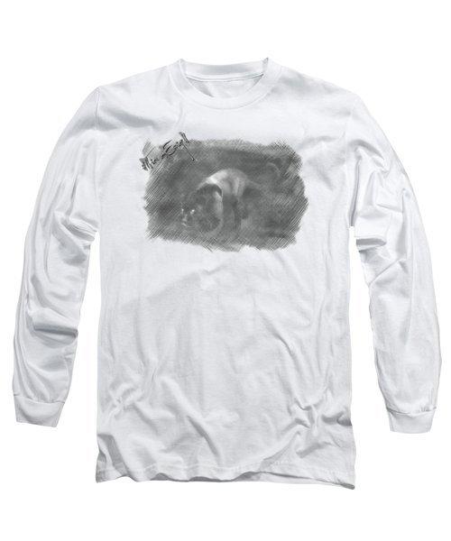 Creeping Panther Long Sleeve T-Shirt by iMia dEsigN