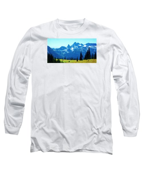 Long Sleeve T-Shirt featuring the photograph Crests And Gaps by Timothy Bulone