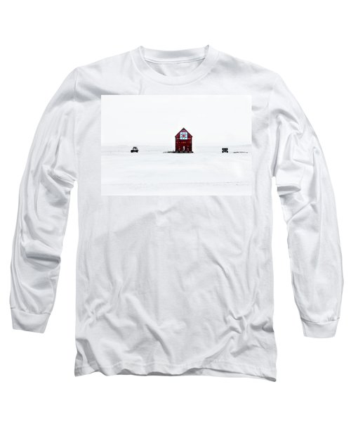 Long Sleeve T-Shirt featuring the photograph Crib Quilt by Julie Hamilton