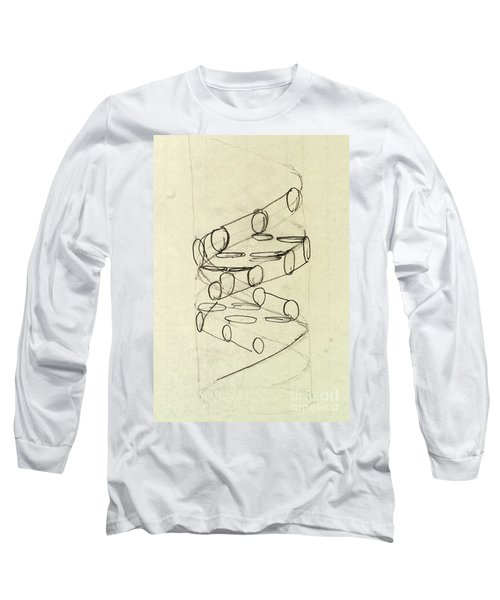 Cricks Original Dna Sketch Long Sleeve T-Shirt