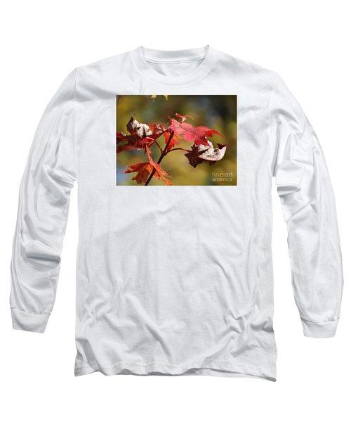 Crimson Fall Long Sleeve T-Shirt