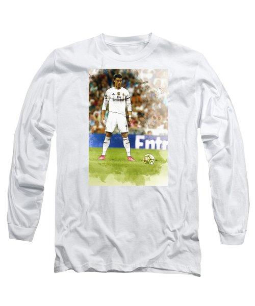 Cristiano Ronaldo Reacts Long Sleeve T-Shirt