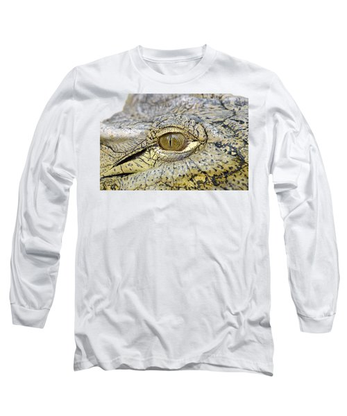 Crocodile Eye Long Sleeve T-Shirt