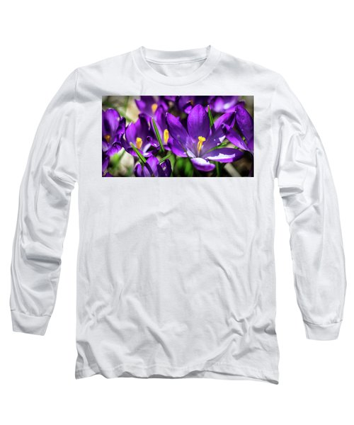 Crocus Amongst Us Long Sleeve T-Shirt