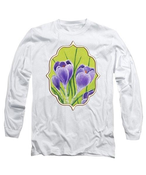 Crocus Long Sleeve T-Shirt