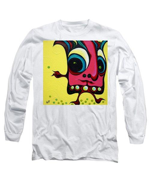 Crop Dustin Long Sleeve T-Shirt