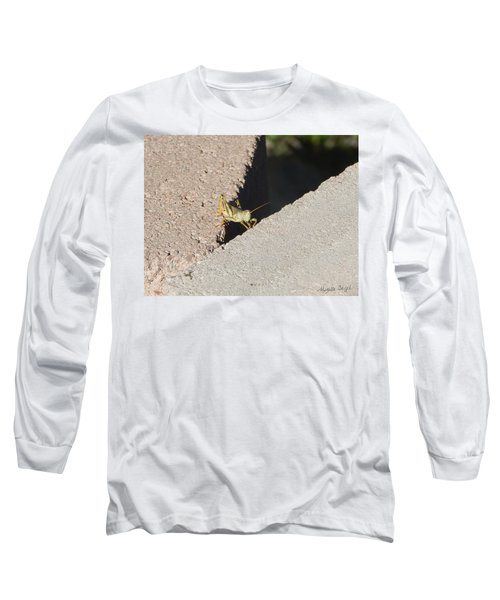 Cross Over Grasshopper Long Sleeve T-Shirt