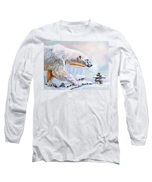 Crossroads Long Sleeve T-Shirt by J W Baker