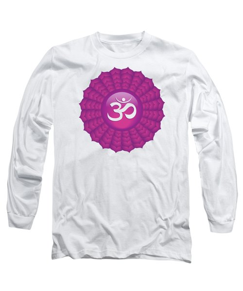 Crown Chakra Long Sleeve T-Shirt