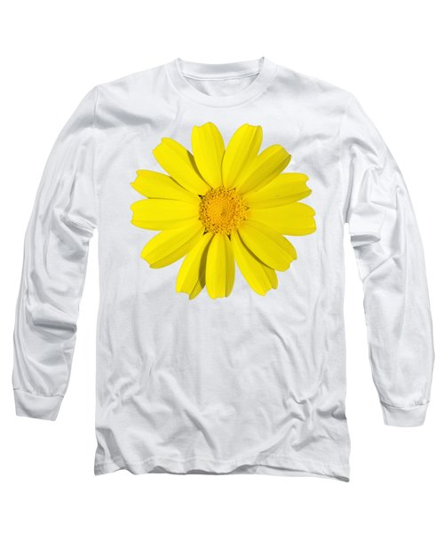 Crown Daisy Long Sleeve T-Shirt