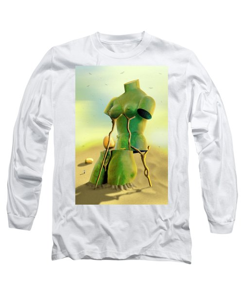 Crutches 2 Long Sleeve T-Shirt
