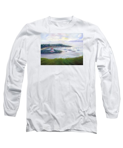 Cruz Bay Remembered Long Sleeve T-Shirt by Loretta Luglio