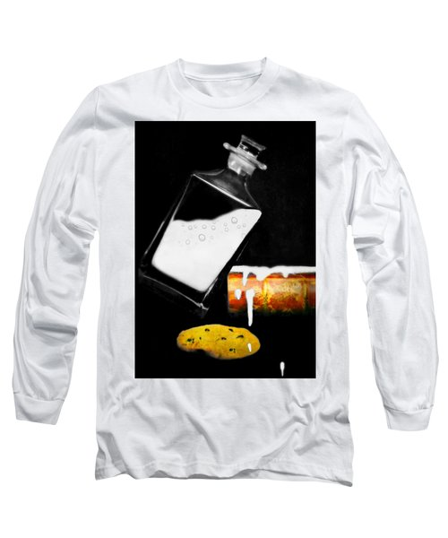 Long Sleeve T-Shirt featuring the photograph Crying Over Spilled Milk by Diana Angstadt