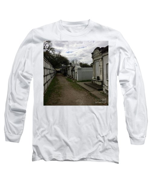 Crypts Long Sleeve T-Shirt by Kim Nelson