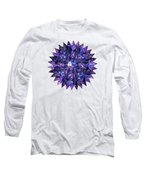 Crystal Magic 1 Long Sleeve T-Shirt by Leanne Seymour