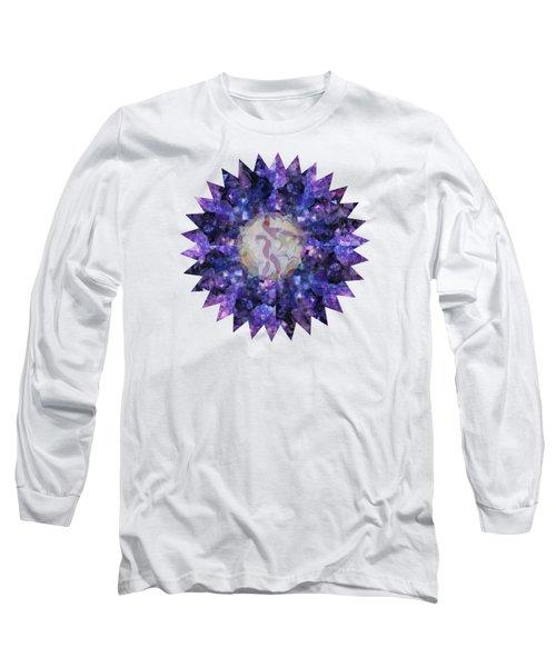 Crystal Magic Mandala Long Sleeve T-Shirt
