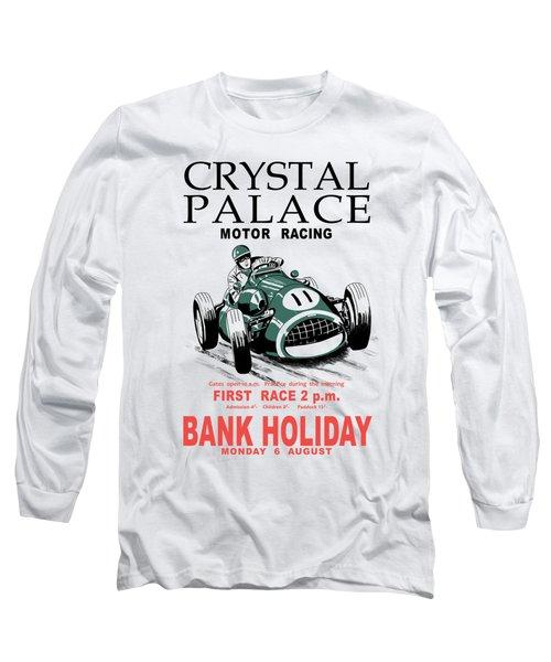 Crystal Palace Motor Racing Long Sleeve T-Shirt