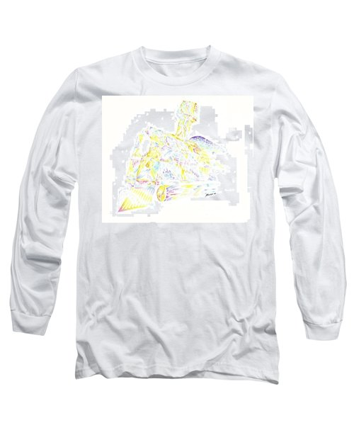Crystal Train Long Sleeve T-Shirt