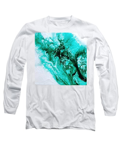 Crystal Wave2 Long Sleeve T-Shirt